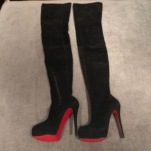 33b5890e7c9 ... coupon code for christian louboutin shoes christian louboutin gazolina  boot 7dc3c bdf6f